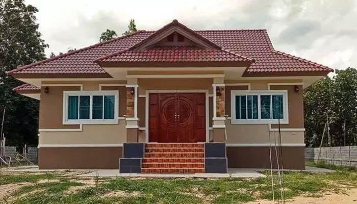 Photo of บ้านชั้นเดียวร่วมสมัย 3ห้องนอน2ห้องน้ำ สวยงามมีสไตล์ ราคาประมาณ 1.35 ล้านบาท