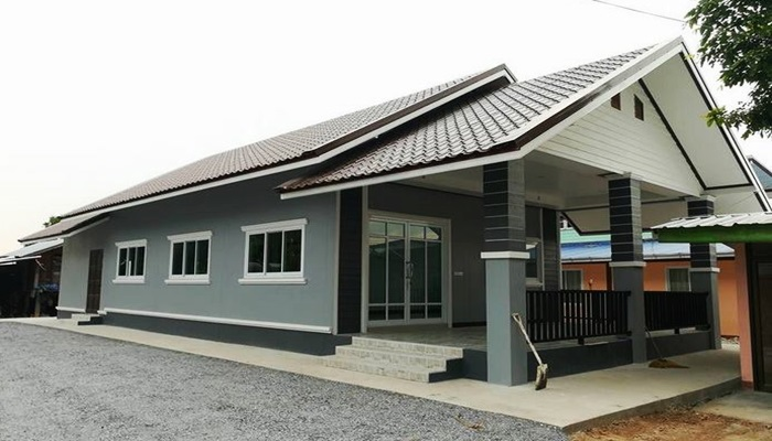 Photo of บ้านชั้นเดียวสไตล์ทรอปิคอล ตกแต่งเรียบง่ายสบายตา 2 ห้องนอน 1 ห้องน้ำประมาณ 670,000 บาท