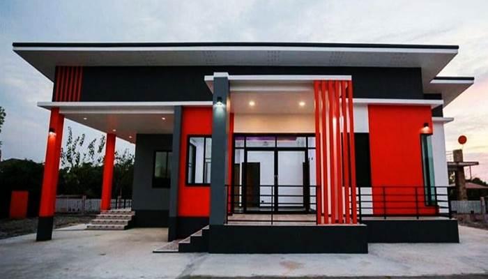 Photo of บ้านชั้นเดียวโมเดิร์น เอกลักษณ์ลงตัวโดดเด่น 3ห้องนอน2ห้องน้ำ พื้นที่ใช้สอย140ตร.ม.