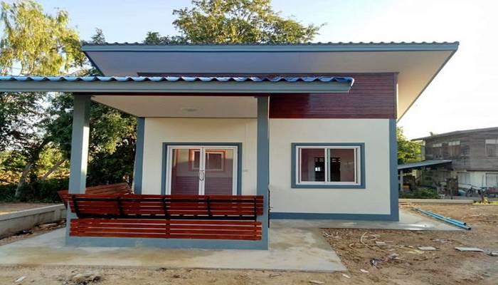 Photo of บ้านชั้นเดียวขนาดเล็ก 1ห้องนอน 1ห้องน้ำ งบก่อสร้าง 170,000 บาท