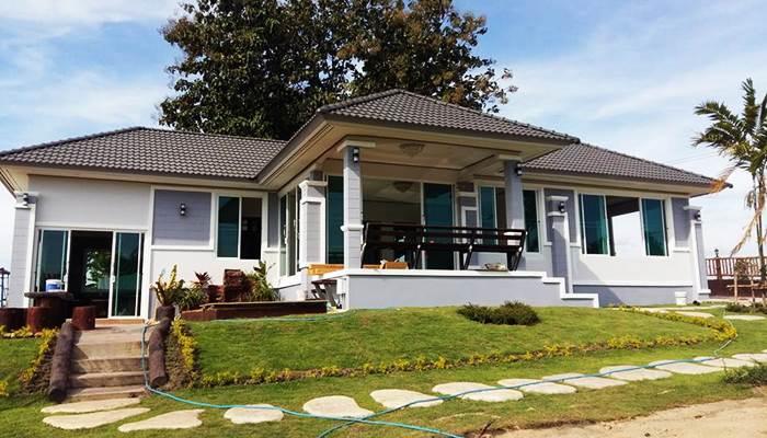 Photo of บ้านชั้นเดียวยกพื้น ดีไซน์ร่วมสมัย 3ห้องนอน 2ห้องน้ำ สวยบนเนิน ราคาประมาณ 1.5 ล้าน
