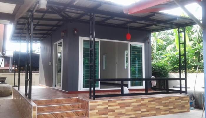 Photo of บ้านโมเดิร์นชั้นเดียวขนาดเล็ก 1ห้องนอนพร้อมห้องน้ำในตัว เหมาะกับครอบครัวเริ่มต้น สวยโดนใจ