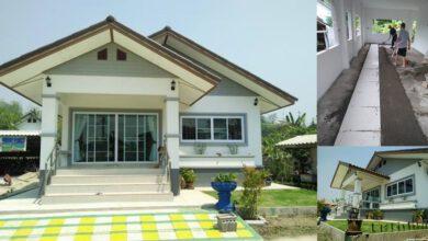 Photo of บ้านชั้นเดียวยกพื้น 2 ห้องนอน 1ห้องน้ำ พื้นที่ 100 ตร.ม. งบประมาณ 970,000บาท