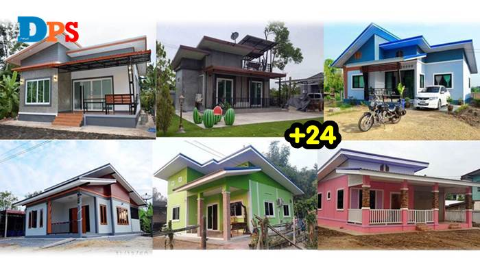 Photo of สวยงามทุกแบบ 24 ไอเดียบ้านชั้นเดียว เซฟเก็บไว้เลย ราคาไม่ถึงล้าน