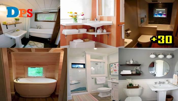 """Photo of รวมไอเดีย""""ห้องน้ำขนาดเล็ก"""" สวยงามสะอาดเรียบง่าย บนพื้นที่ขนาดเล็ก"""