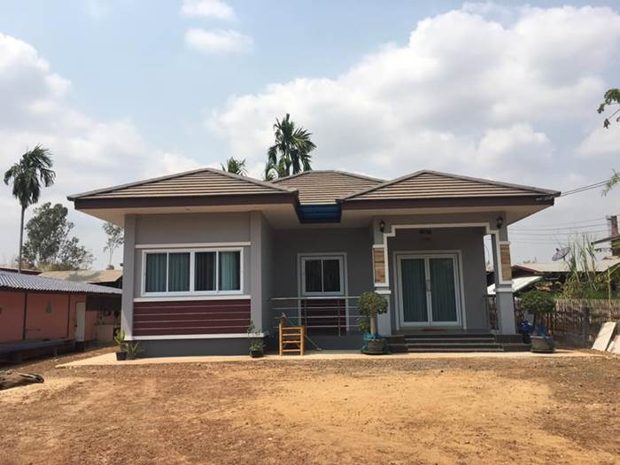 Photo of บ้านชั้นเดียวสไตล์ทรอปิคอล 3ห้องนอน 2ห้องน้ำ 1ห้องครัว งบประมาณ 1.15 ล้านบาท