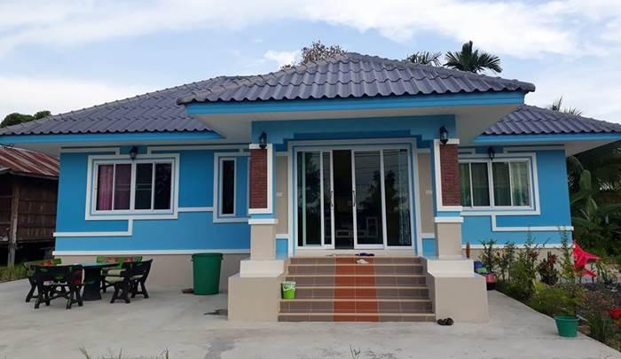 Photo of บ้านชั้นเดียวยกพื้น 3ห้องนอน 2 ห้องน้ำ พื้นที่80ตร.ม. ประมาณ 820,000 บาท