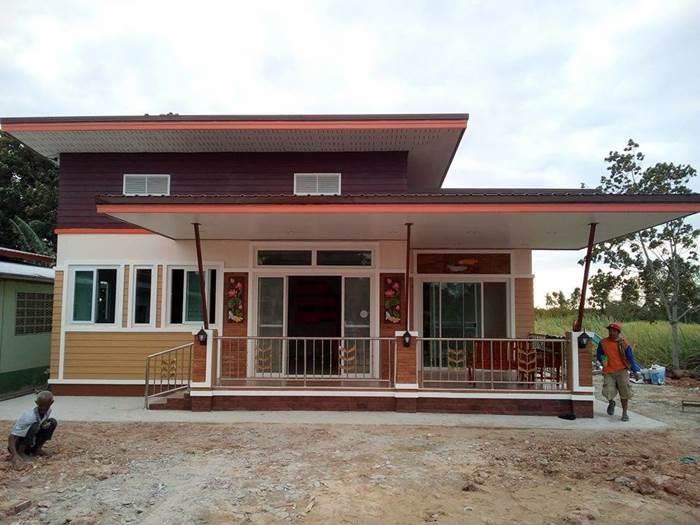 Photo of บ้านยกพื้นสไตล์โมเดิร์น  2 ห้องนอน 2 ห้องน้ำ 1 ห้องครัว