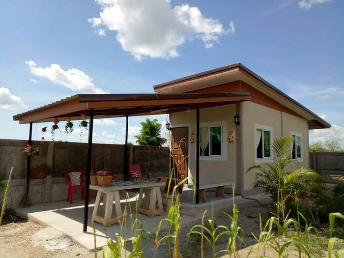 Photo of บ้านโมเดิร์นชั้นเดียว 1ห้องนอน 1ห้องน้ำ หลังน้อย พื้นที่ 18 ตร.ม. ราคาประหยัด