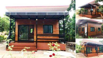 Photo of บ้านโมเดิร์นสไตล์บ้านน็อคดาวน์ 2 ห้องนอน กะทัดรัด ราคาประมาณ 280,000 บาท