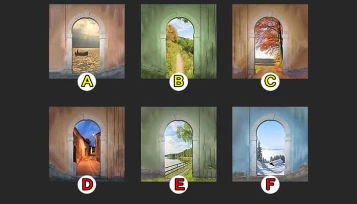Photo of เลือกอุโมงค์ที่คุณชอบมากที่สุด บ่งบอกทางเดินบอกเส้นทางชีวิตในอนาคต