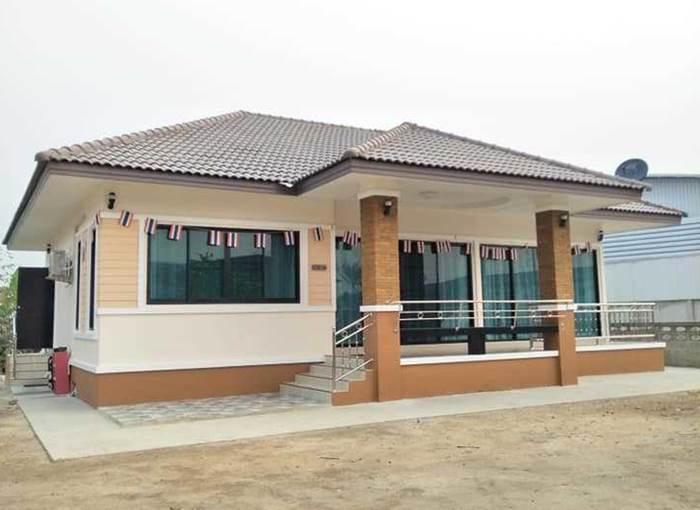 Photo of บ้านชั้นเดียวร่วมสมัย 3ห้องนอน 2 ห้องน้ำ พื้นที่ 132 ตร.ม. ง บประมๅณ 1.25 ล้ๅนบๅท