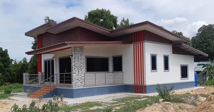 บ้านสไตล์โมเดิร์นสวย ขนาด 3 ห้องนอน 1 ห้องน้ำ ราคา 950,000 บาท