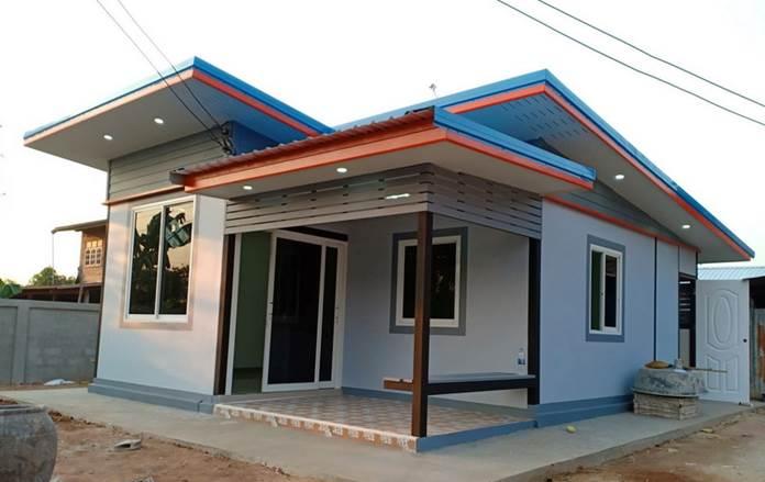 สร้างบ้านโมเดิร์นพร้อมอยู่ พื้นที่ 36 ตร.ม. ขนาด 1 ห้องนอน 1ห้องน้ำ จบที่ราคา 315,000 บาท