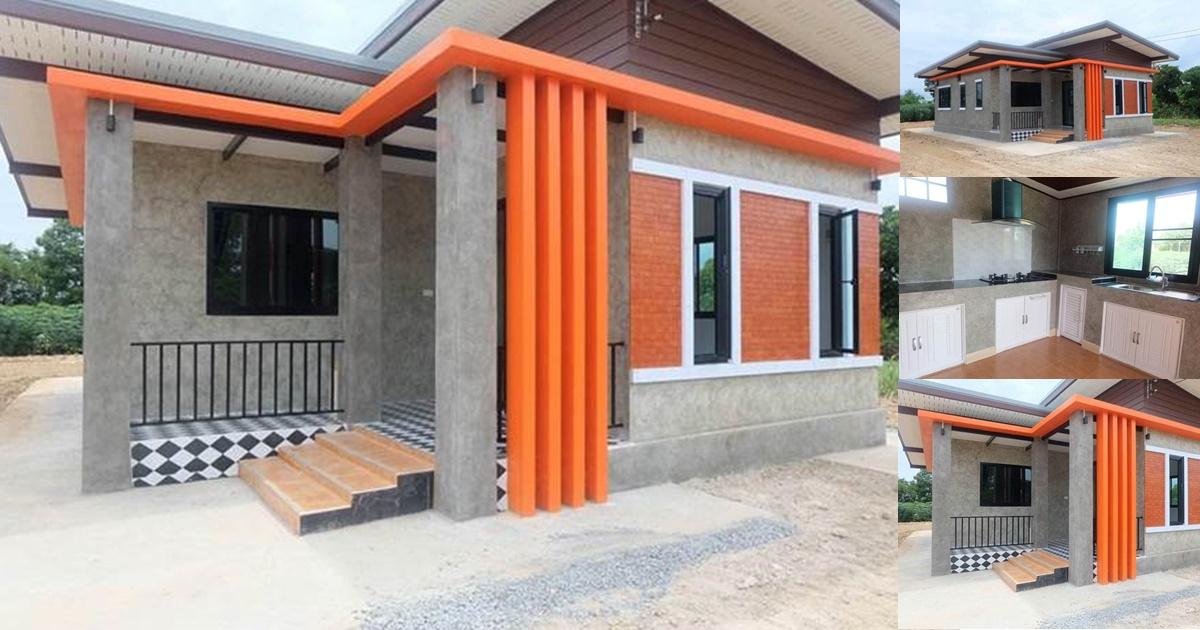 Photo of สร้างบ้านโมเดิร์นลอฟท์ ขนาด 2 ห้องนอน 1 ห้องน้ำ สวยน่าอยู่มีสไตล์โดดเด่น
