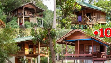 Photo of 10 ไอเดียบ้านไม้ยกพื้นสูง(มีใต้ถุนบ้าน) บรรยากาศแบบบ้านสวน สวยงามโดนใจ