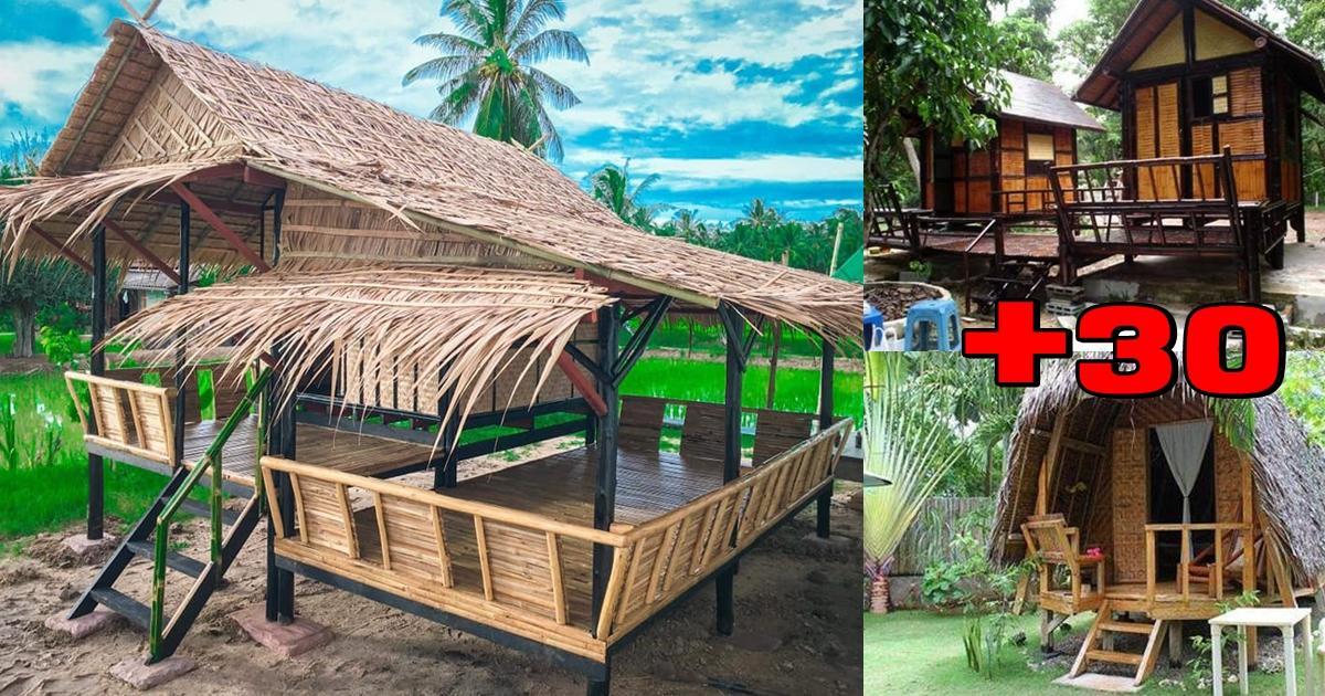 Photo of รวมไอเดีย บ้านไม้ไผ่ ท่ามกลางธรรมชาติ อากาศสดชื่น ผ่อนคลายสุดชิว