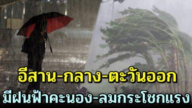 Photo of วันนี้ ประเทศไทย ตอน บ น ร้ อ น จั ด มีฝน-ลมแร ง