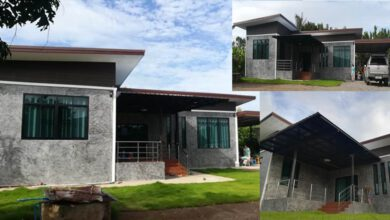 Photo of บ้านชั้นเดียวโมเดิร์นลอฟท์ ปูนเปือยขัดมัน3ห้องนอน ครัวกว้างขวาง สวยน่าอยู่(สร้างที่ จ.แพร่)