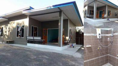 Photo of บ้านชั้นเดียวโมเดิร์น 3ห้องนอน 1ห้องน้ำ สร้างบ้านกันเอง ด้วยงบ 520,000 บาท