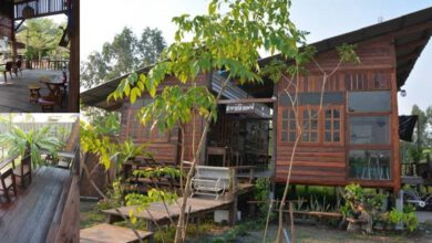 Photo of ไอเดียบ้านไม้ดิ บ สไตล์ร้านกาแฟวินเทจ ส ว ยงาม ท่ามกลางธรรมชาติที่ลงตัว
