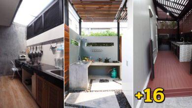 Photo of รวมไอเดีย ต่อเติมคร้วหลังบ้าน ในพื้นที่เล็กแคบ หมดปัญหาเรื่องการกลัวกลิ่นรบกวนภายในบ้าน