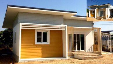 Photo of บ้านชั้นเดียว โทนสีเหลือง 2ห้องนอน 1ห้องน้ำ งบประมาณ 730,000 บาท