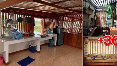 """Photo of 36 ไอเดีย """"ออกแบบห้องครัวไทย"""" โปร่งโล่งระบายอากาศ"""