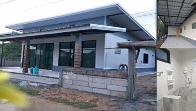 Photo of บ้านหน้ากว้างชั้นเดียวโมเดิร์น 1ห้องนอน 1ห้องน้ำ งบประมาณ 550,000บาท