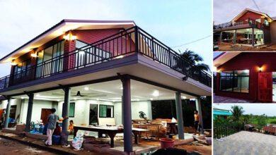 Photo of บ้านสองชั้น สวยหรู 2ห้องนอน มีลานระเบียงชมวิว งบ 1.5 ล้าน