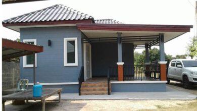 Photo of บ้านชั้นเดียวยกพื้น 1ห้องนอน 1 ห้องน้ำ พื้นที่98 ตร.ม. งบประมาณ 550,000 บาท