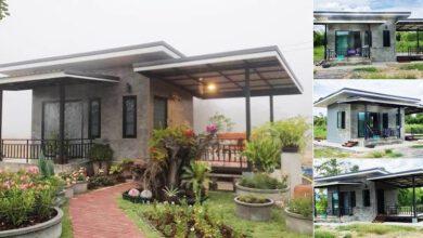 Photo of ตัวอย่างบ้านสวนหลังเล็ก บรรยากาศร่มรื่น 1ห้องนอน 1ห้องน้ำ งบ 350,000
