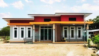 Photo of บ้านสไตล์โมเดิร์น 3 ห้องนอน 2ห้องน้ำ หลังใหญ่สวยหรู