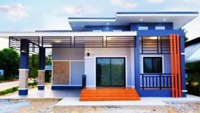 Photo of บ้านโมเดิร์นสวยคลาสสิก 2 ห้องนอน 2ห้องน้ำ งบก่อสร้าง 9 แสนบาท