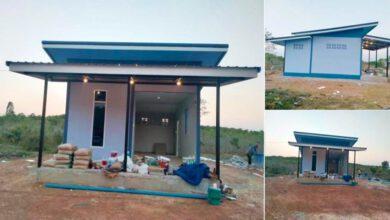 Photo of บ้านโมเดิร์นหลังเล็ก กะทัดรัดพื้นที่ใช้สอย(36 ตร.ม.) 1ห้องนอน 1ห้องน้ำ