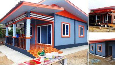 Photo of บ้านชั้นเดียวขนาดเล็ก 2ห้องนอน งบประมาณ220,000 บาท