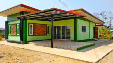 Photo of บ้านโมเ ดิร์นกะทั ดรั ด 2ห้องนอน 1ห้องน้ำ ร าคา 420,000
