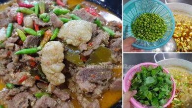 Photo of ทำกิ นเองอร่อยทำง่าย แกงเขียวหวานเ นื้อ ได้กะทิแ ตกมันสวย