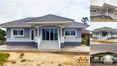 Photo of บ้านสวย 2ห้องนอน 2ห้องน้ำ สไตล์คอนเทมโพรารี่ งบประมาณ 9 แสนกว่าบาท