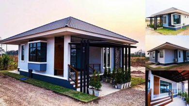 Photo of บ้านชั้นเดียวทันสมัย 2 ห้องนอน พื้นที่ใช้สอย(90 ตรม.) งบ ล้านกว่าบาท