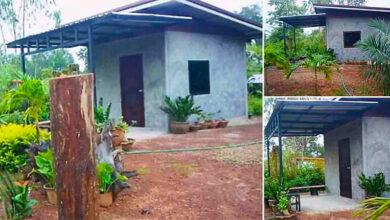 Photo of บ้านสวนหลังเล็ก เจ้าของบ้านทำเอง งบประมาณ 3 หมื่นกว่า