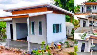Photo of ตัวอย่างบ้านโมเดิร์นหลังเล็ก เน้นเรียบง่าย 1ห้องนอน 1ห้องน้ำ