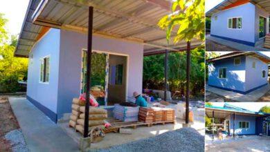 Photo of ตัวอย่างบ้านสวนหลังเล็ก งบประหยัด 1ห้องนอน 1ห้องน้ำ พื้นที่(55 ตรม.) น่าอยู่